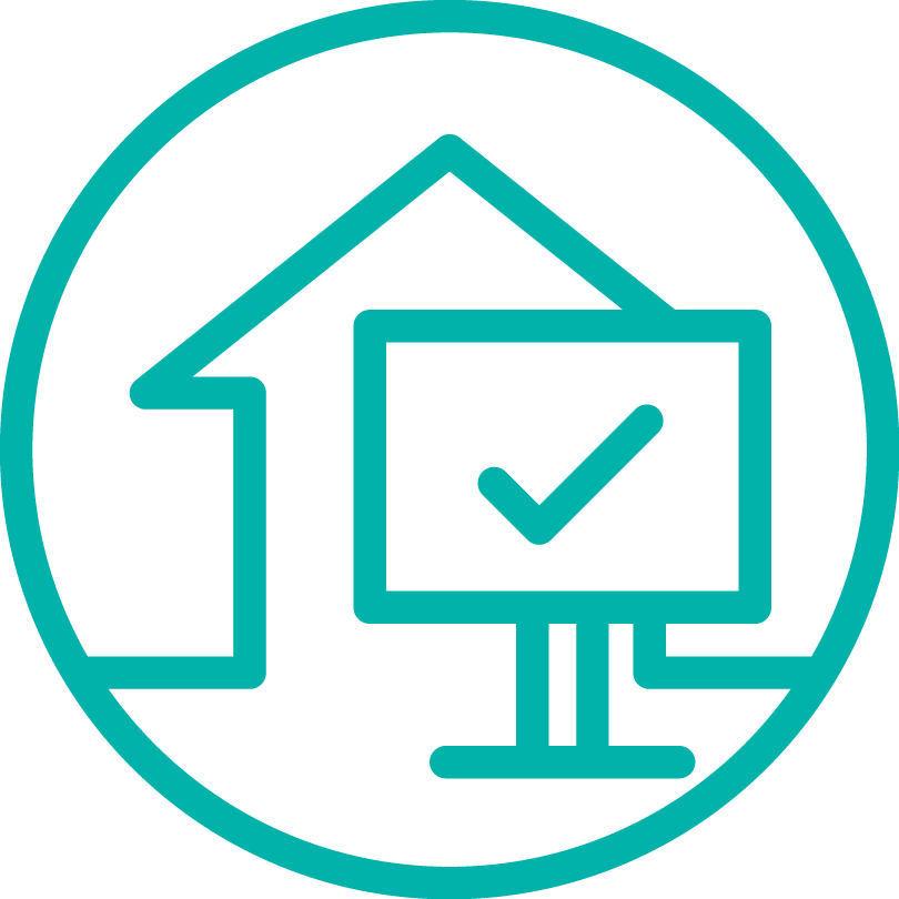 Property and land titles icon