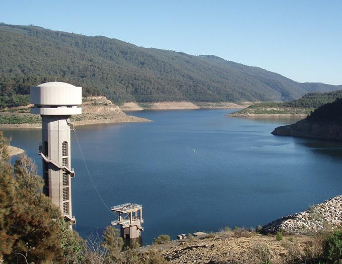 A reservoir in Victoria