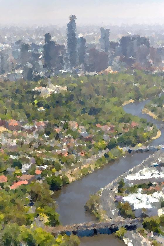 Melbourne cityscape picture